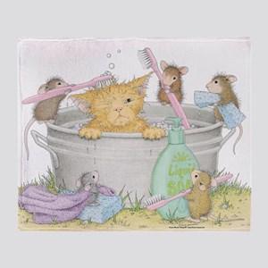Mice Co Cat Wash Throw Blanket